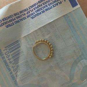 BVLA Kolo Seam Ring in Yellow Gold Gorgeous